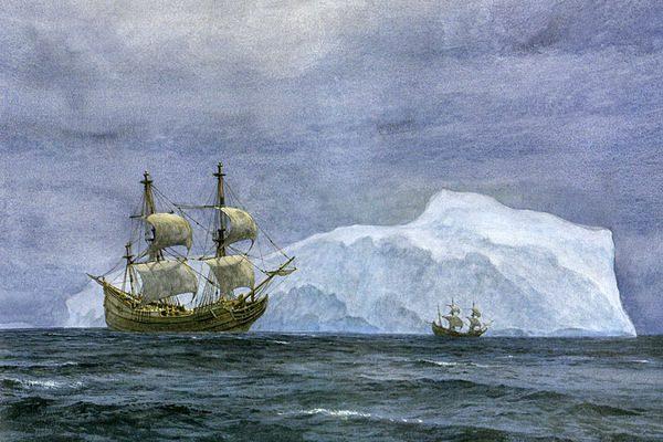 Корабли Тасмана в Южных морях