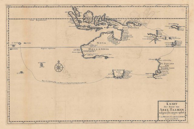 Карта Абеля Тасмана