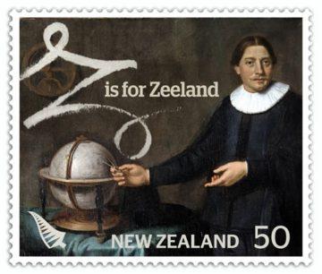 Тасман, марка Новой Зеландии 2008