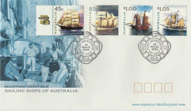 Австралия конверт первого дня