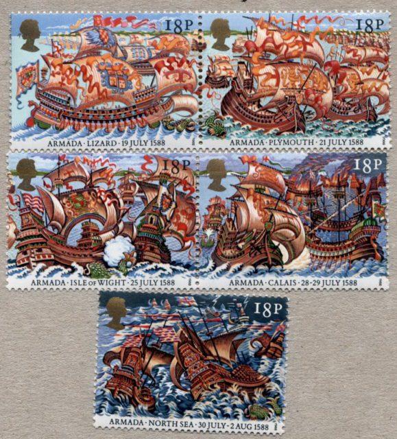 марки Великобритания
