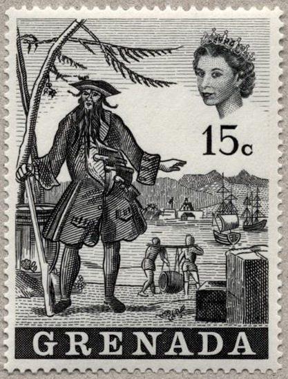 Пират Черная Борода Марка