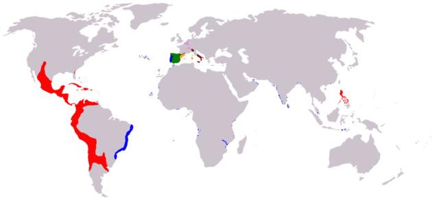 Испанские владения