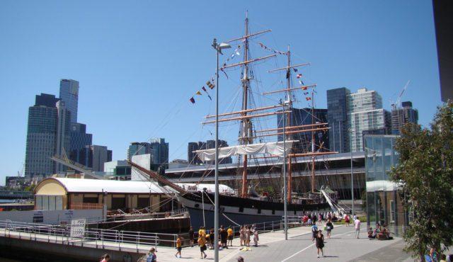 Polly Woodside в морском музее Мельбурна