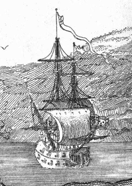 Корабль Черной Бороды - Месть Королевы Анны