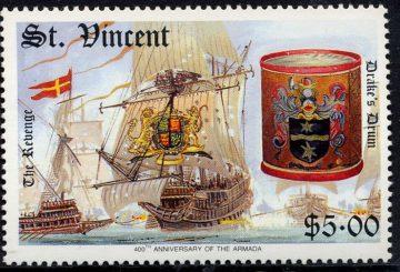 Корабль Revenge. Сент-Винсент 1988