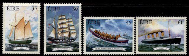 Корабли на марках