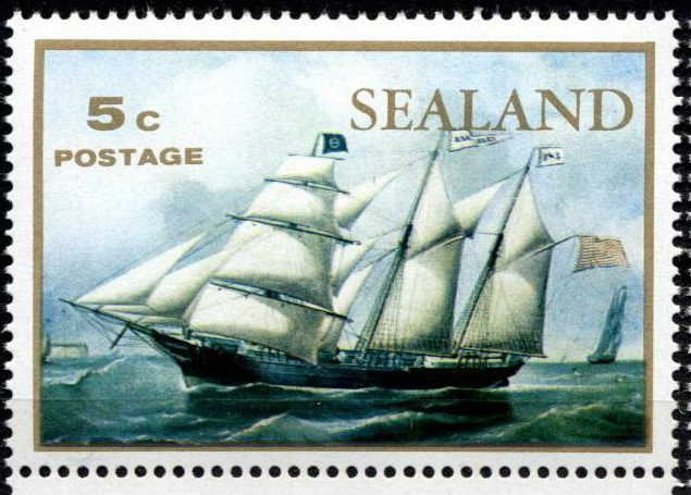Княжество Силенд и его марки