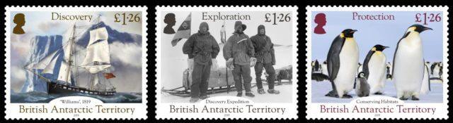 Британские антарктические территории (BAT) 2019