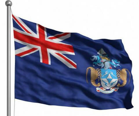 Тристан-да-Кунья флаг