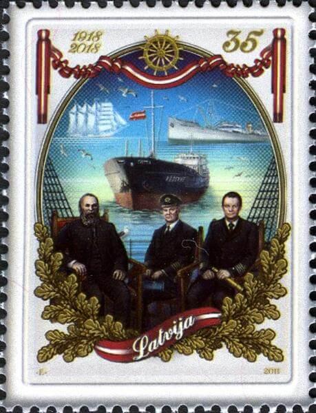 Латвия марки