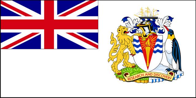 Флаг Британских Антарктических территорий