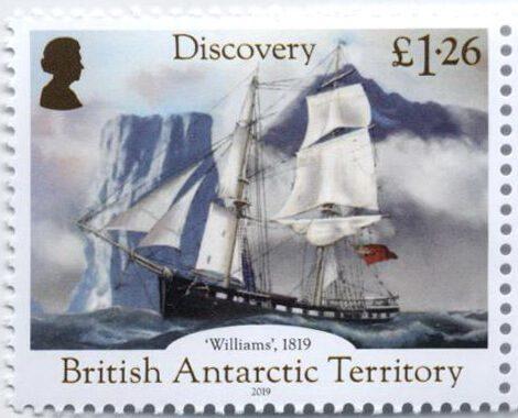 Британские Антарктические Территории 2019
