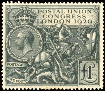 Великобритания, 1929