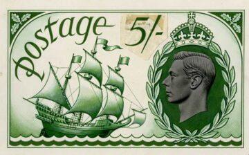 Джордж Белью, проект марки с парусником