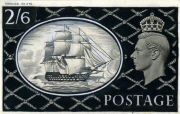 Мэри Эдсхед, проект марки с изображением HMS Victory
