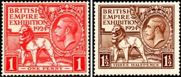 Марки Великобритания, 1924