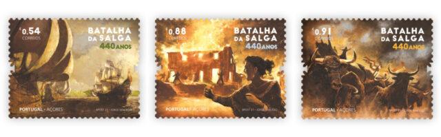 Азорские острова 2021. 440 лет Битвы при Сальге